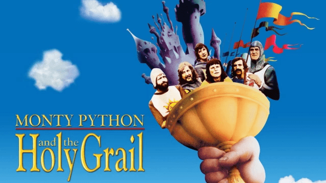 ONTY PYTHON AND THE HOLY GRAIL (1975)-min